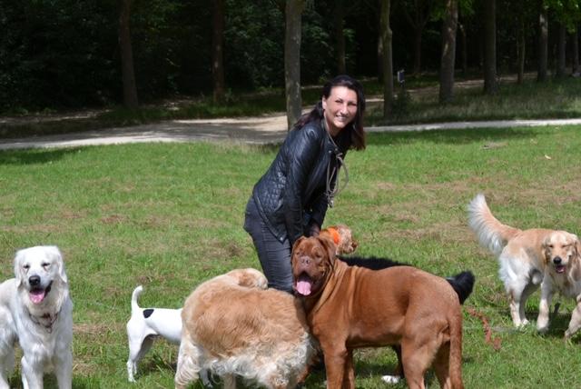 Karine Thomeret, éducatrice chien certifiée